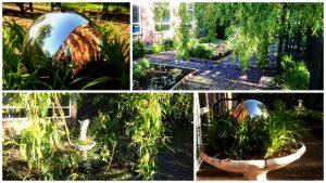 mystery garden collage
