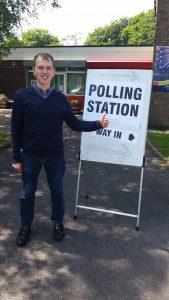 james voting